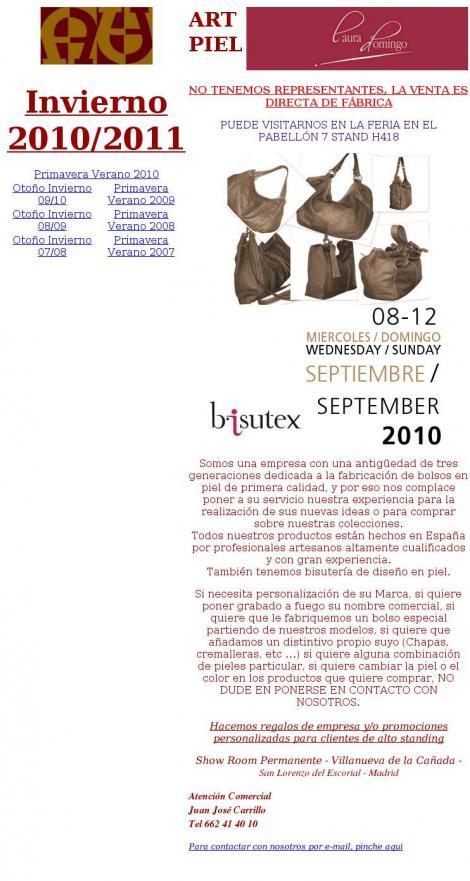 • Art Piel Bolsos y Complementos S.L. • Madrid • http   www.artpiel.com 471a79e06a4
