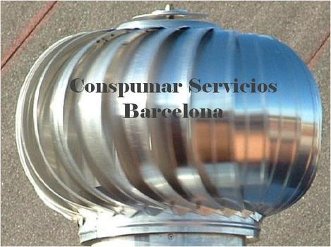dda90058f • Extractores Eolicos. Sombreretes giratorios chimeneas. Barcelona  933520714 • Barcelona •